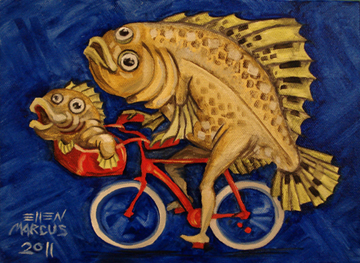 FlounderOnaBicycle