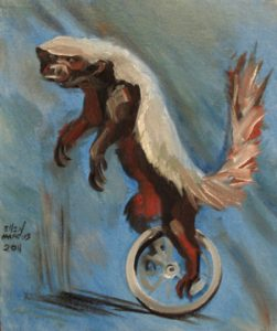 HoneyBadgerUnicycle